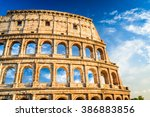 Rome  Italy. Colosseum In Roma...