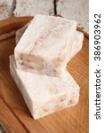 Small photo of Frozen Fish Fillet Block, Alaska Pollock.