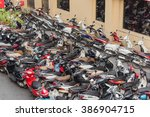 hanoi  vietnam feb 14 2016 top... | Shutterstock . vector #386904715