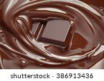 melted chocolate background  ...