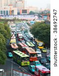 xi'an  china   july 7  view... | Shutterstock . vector #38692747