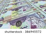 united arab emirates dirhams... | Shutterstock . vector #386945572