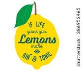 Motivation Quote About Lemons....