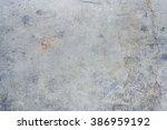 old cracked concrete floor... | Shutterstock . vector #386959192