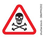 danger sign | Shutterstock .eps vector #386994202