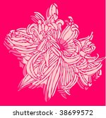 flower print   Shutterstock .eps vector #38699572