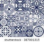 vector illustration of moroccan ...   Shutterstock .eps vector #387001315