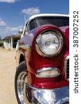 cuba  valle de los ingenios ... | Shutterstock . vector #387007252