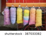 Colorful Cotton Sweet Candy In...