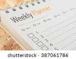 Close Up Word Weekly Planner O...