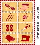 bolt of cloth,border,button,cloth,crafts,crochet,crochet hooks,custom,darning,decorating,diy,do it yourself,eps8,fabric,fashion