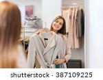 shopping  fashion  clothes ... | Shutterstock . vector #387109225