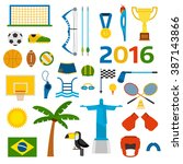 Rio Summer Olympic Games Icons...
