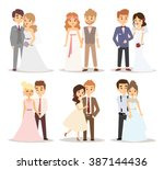 Wedding Couple Vector...