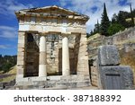 Building Of Treasury Of Athens...