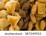 mixed brazilian snack.  | Shutterstock . vector #387249922