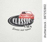 auto service set. rent a car....   Shutterstock .eps vector #387252802