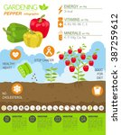 gardening work  farming... | Shutterstock .eps vector #387259612