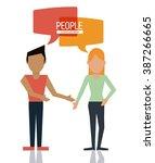 people icon design    Shutterstock .eps vector #387266665