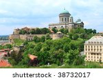 church and fortress on the hill | Shutterstock . vector #38732017
