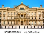 new jersey state house on a... | Shutterstock . vector #387362212