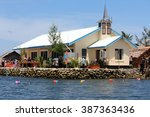 Small photo of Ropa Seventh Day Adventist Church. On the Artificial Island Of Ropa, Foueda
