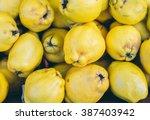 Bunch Of Juicy Yellow Quinces...