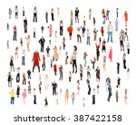 people diversity achievement... | Shutterstock . vector #387422158