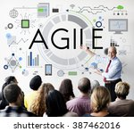 Small photo of Agile Agility Nimble Quick Fast Volant Concept