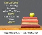 inspirational message of... | Shutterstock . vector #387505222