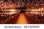 red carpet festival glamour... | Shutterstock . vector #387509005