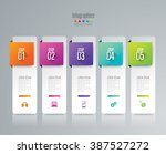 infographic design template can ... | Shutterstock .eps vector #387527272