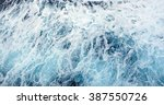 ocean wave high angle view of... | Shutterstock . vector #387550726
