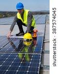 photovoltaic | Shutterstock . vector #387574045