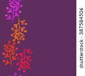 floral  seamless pattern ... | Shutterstock . vector #387584506