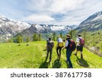 courmayeur  italy   may 10 ... | Shutterstock . vector #387617758