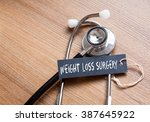 medical concept  weight loss... | Shutterstock . vector #387645922