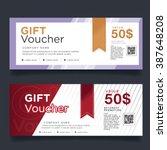 gift voucher colorful | Shutterstock .eps vector #387648208