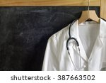Doctor Coat With Stethoscope O...