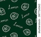 seamless pattern half of a... | Shutterstock .eps vector #387716362