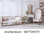 Classic Interior Of Living Room ...