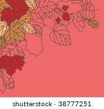 autumn border   Shutterstock .eps vector #38777251