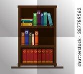 book icon design  | Shutterstock .eps vector #387789562