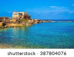national park caesarea on the... | Shutterstock . vector #387804076