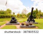 Cannons In The Fort Nieuw...
