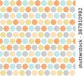 vector abstract geometric... | Shutterstock .eps vector #387810982