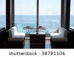 hotel restaurant in budva ... | Shutterstock . vector #38781106