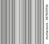 seamless barcode vector pattern.... | Shutterstock .eps vector #387835936