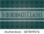 subordinate clauses card or
