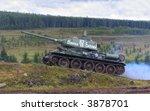 t 34 tank | Shutterstock . vector #3878701
